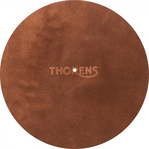 Thorens Tellermatte aus Leder